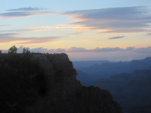 Grand Canyon, sunset
